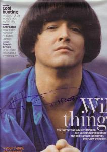 signed magazine