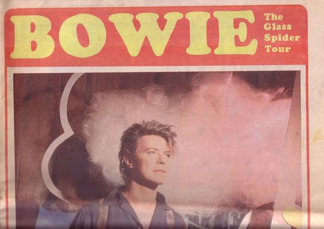 David Bowie Roker Park Glass Spider Tour 23 June 1987 (3/3)