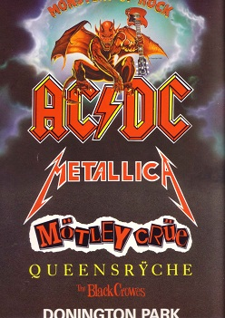 AC/DC: Monsters of Rock Donington Park 1991 (2/2)