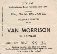 Van Morrison &  The Caledonia Soul Orchestra Newcastle City Hall 27th July 1973  (1/2)