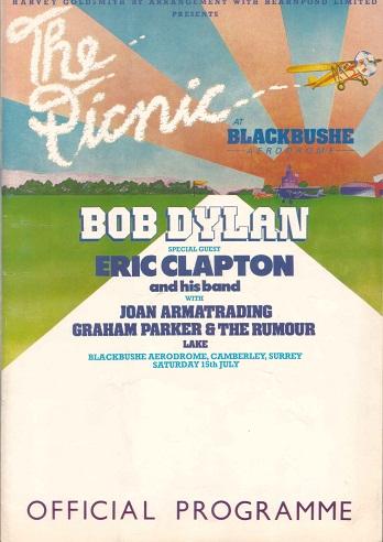Bob Dylan Blackbushe Aerodrome 1978 (2/2)