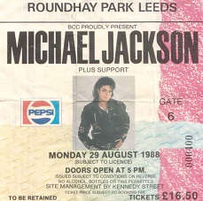 Michael Jackson Roundhay Park Leeds August 29th 1988 (2/2)
