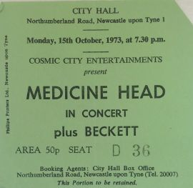 medicinehead ticket