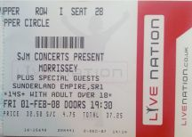 morrissey 2008