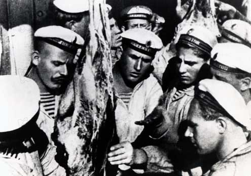 the uprising in the films the battleship potemkin matewan and the square