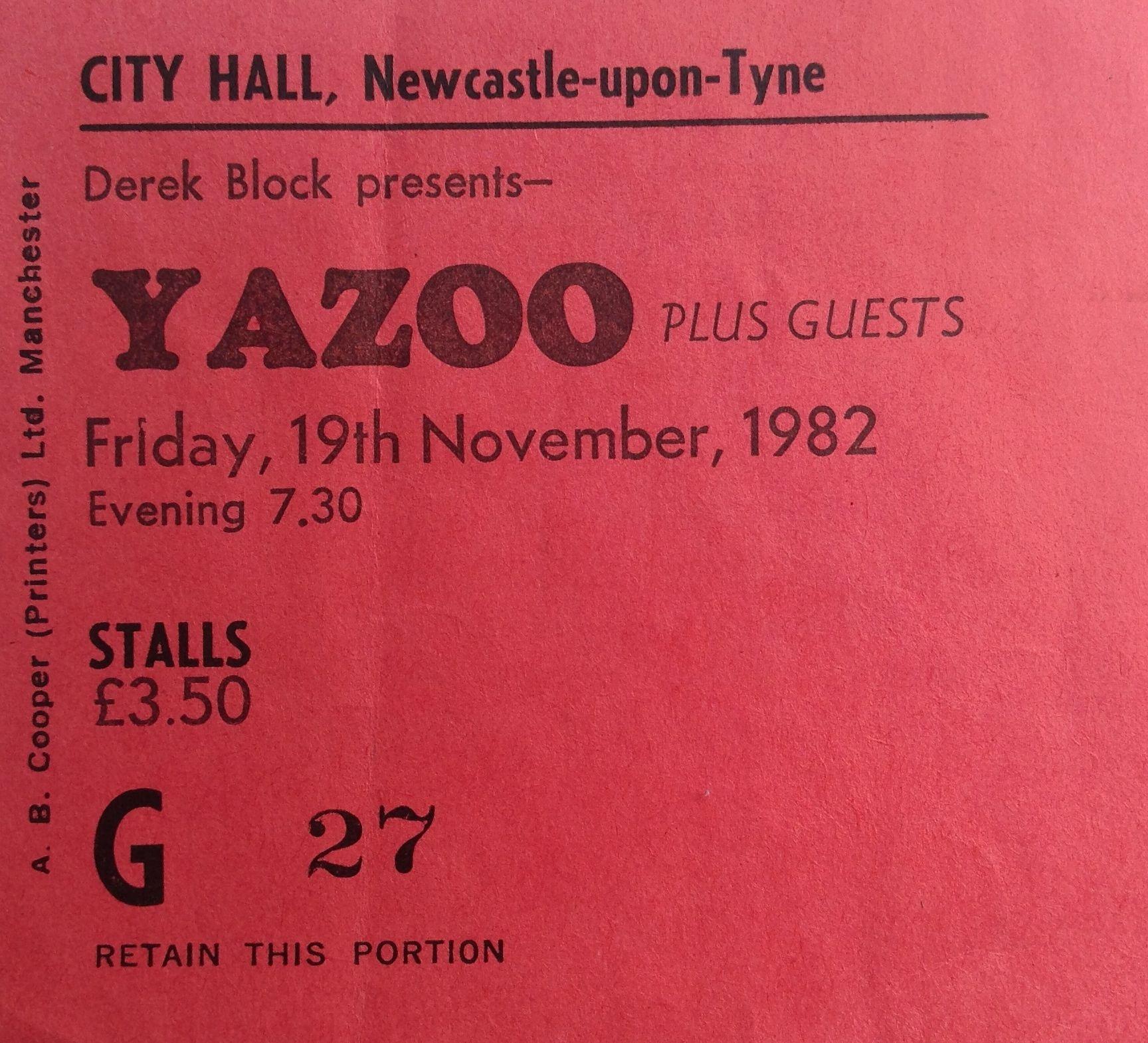 Yazootix Yazoo Goodbye Seventies