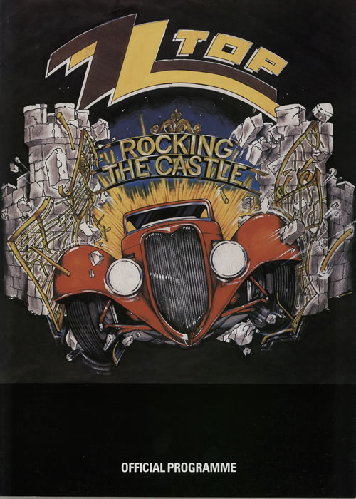 Z Z Top Rocking the Castle, Donington 17th August 1985 (2/2)