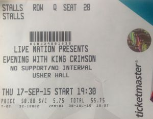king crimson tix