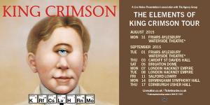 king crimson tour