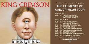 king crimson tour