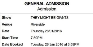 they might be giants tix