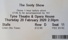 sooty ticket