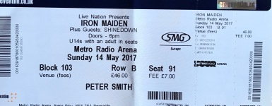 maiden tix may 2017
